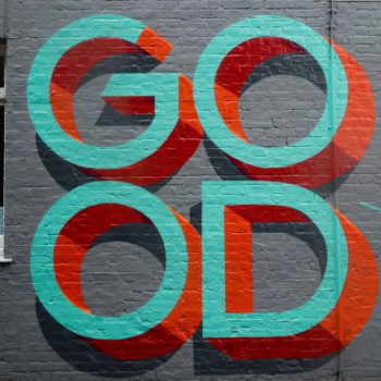 GOOD wall mural.