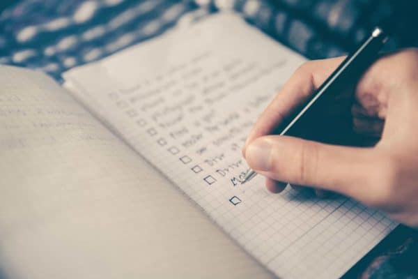Weekly Review Checklist